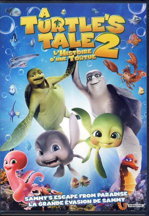 A Turtle's Tale 2: Sammy's Escape from Paradise A Turtle39s Tale 2 Sammy39s Escape From Paradise Bilingual on DVD
