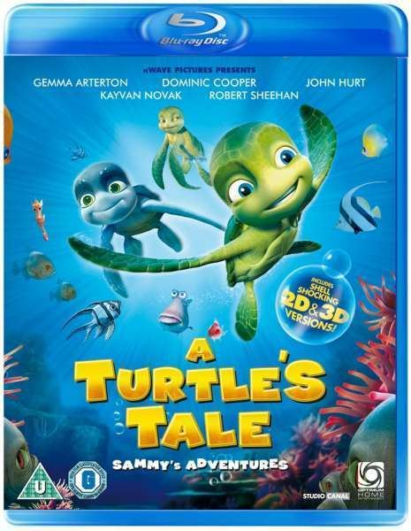 A Turtle's Tale: Sammy's Adventures A Turtles Tale Sammys Adventures Includes 3D and 2D Version Blu