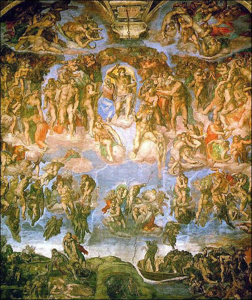 A Vision of the Last Judgment CHRISTIANITY JUDGEMENT REVELATION AND MIRACLES Facts and Details