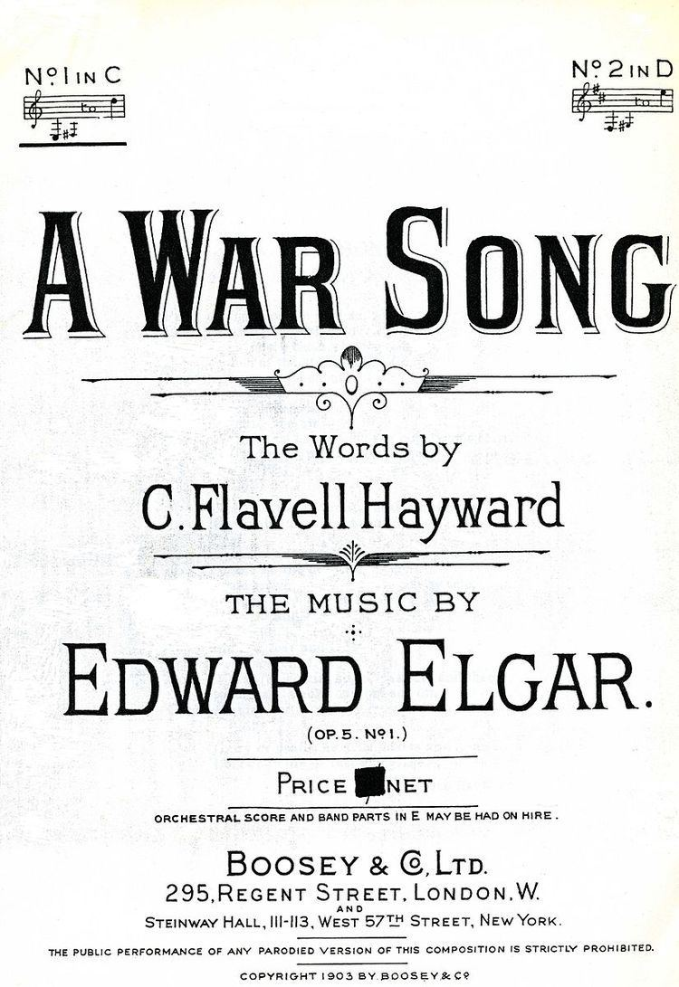 A War Song