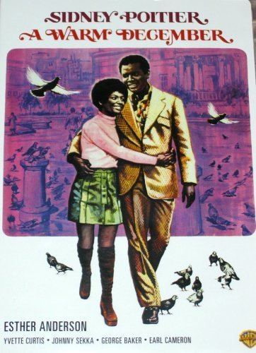 A Warm December Amazoncom A Warm December Sidney Poitier Esther Anderson Movies