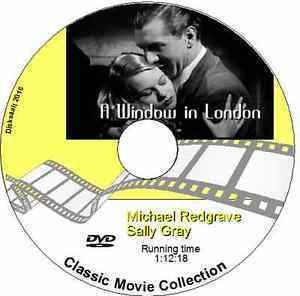 A Window in London A Window in London Michael Redgrave Sally Gray DVD 1940 Film eBay