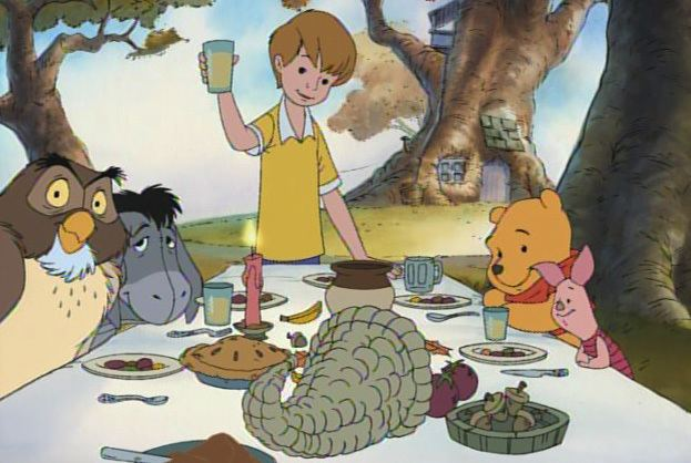 A Winnie the Pooh Thanksgiving A Winnie the Pooh Thanksgiving 1998 Review BasementRejects
