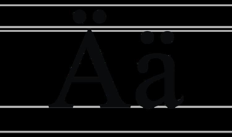 A with diaeresis (Cyrillic)