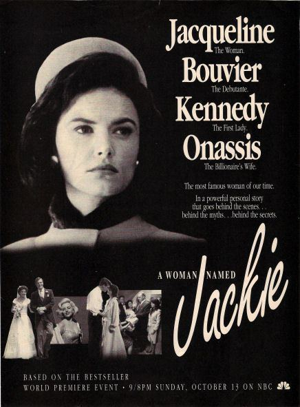 A Woman Named Jackie A WOMAN NAMED JACKIE 1991 Movie AdClipping Roma Downey