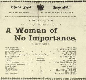 A Woman of No Importance (1921 film) A Woman of No Importance Wikipedia