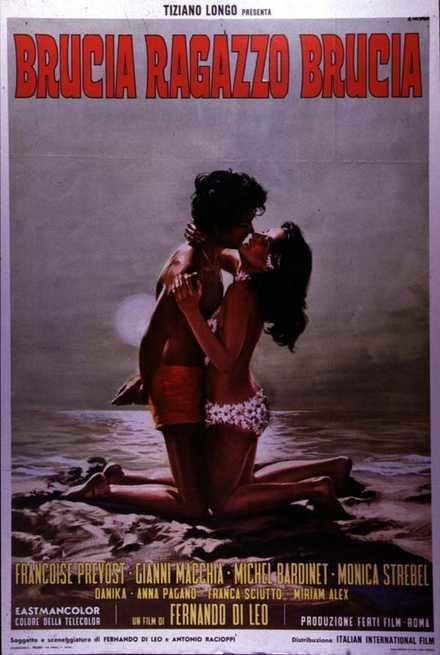 A Woman on Fire Brucia ragazzo brucia 1969 FilmTVit