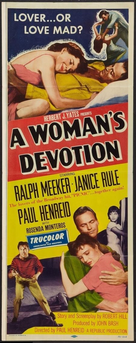 A Womans Devotion Battle Shock 1956 Starring Ralph Meeker