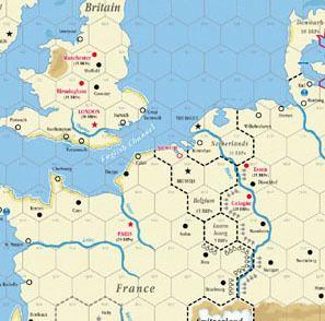 A World At War GMT GAMES A world At War Map