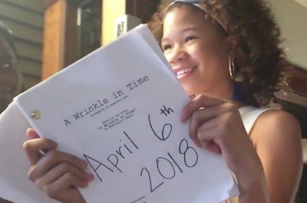 A Wrinkle in Time (2018 film) Ava DuVernay39s 39A Wrinkle in Time39 Gets Spring 2018 Release Date