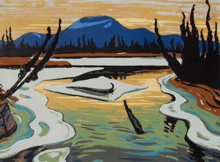 A. Y. Jackson Smart River Alaska AY Jackson WikiArtorg