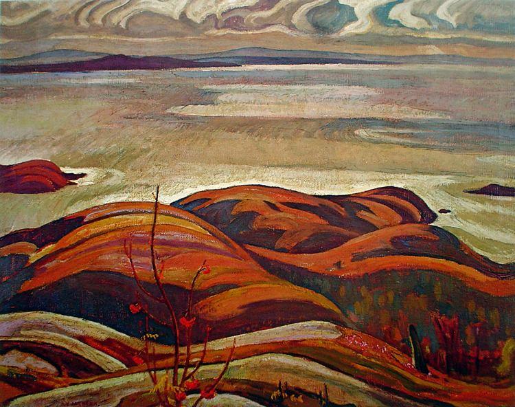 A. Y. Jackson jackson North Shore Lake Superior Kerrisdale Gallery