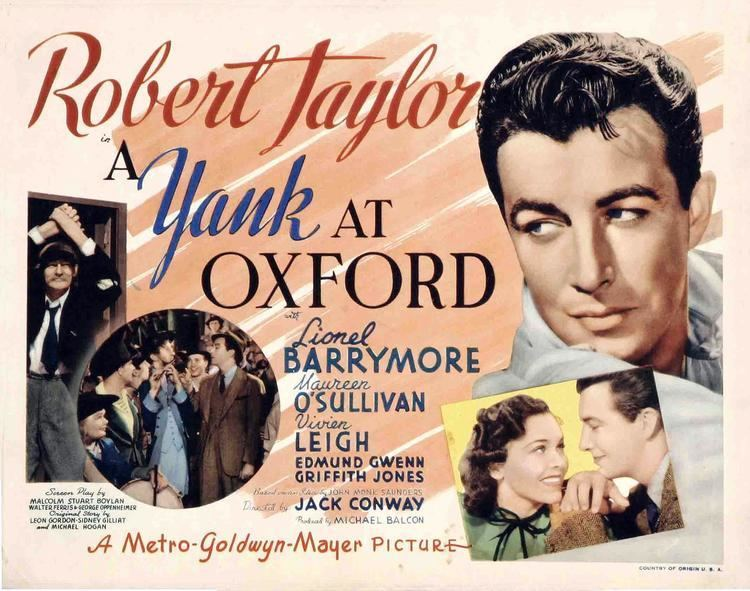 A Yank at Oxford Lauras Miscellaneous Musings Tonights Movie A Yank at Oxford