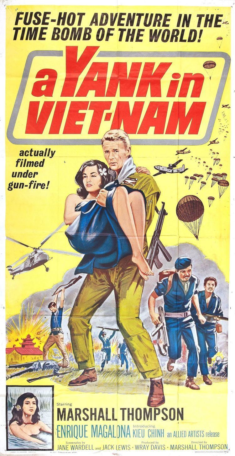 Poster for A Yank in VietNam 1964 USA Wrong Side of the Art