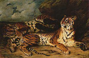 A Young Tiger Playing with Its Mother httpsuploadwikimediaorgwikipediacommonsthu