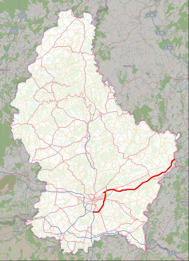 A1 motorway (Luxembourg)