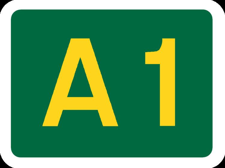 A1 road (Jersey)