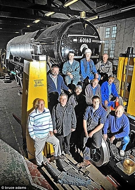 A1 Steam Locomotive Trust Absolutely chuffed What happened when 30 grown men gave up 10 years