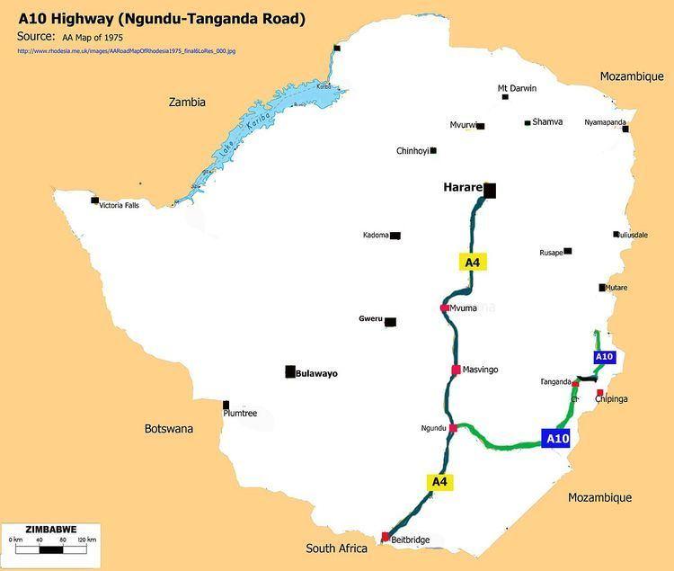 A10 Road (Zimbabwe)