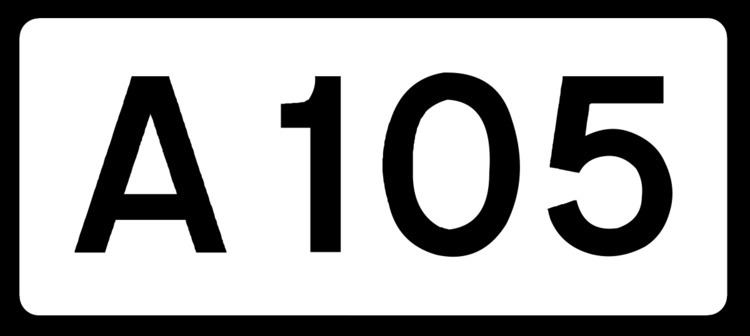 A105 road