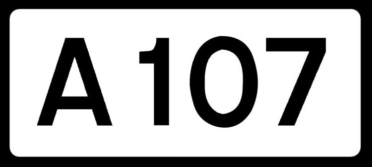 A107 road