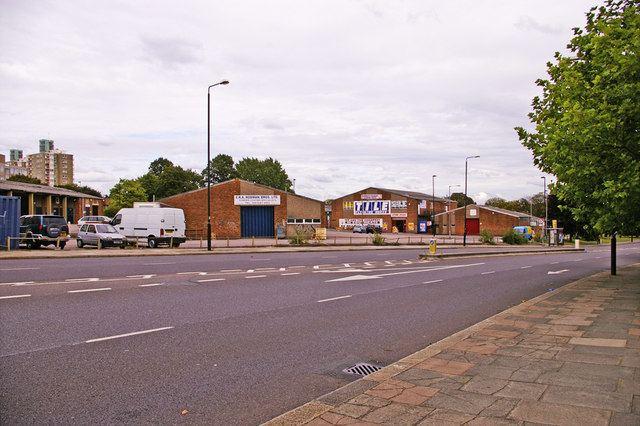 A109 road (England)
