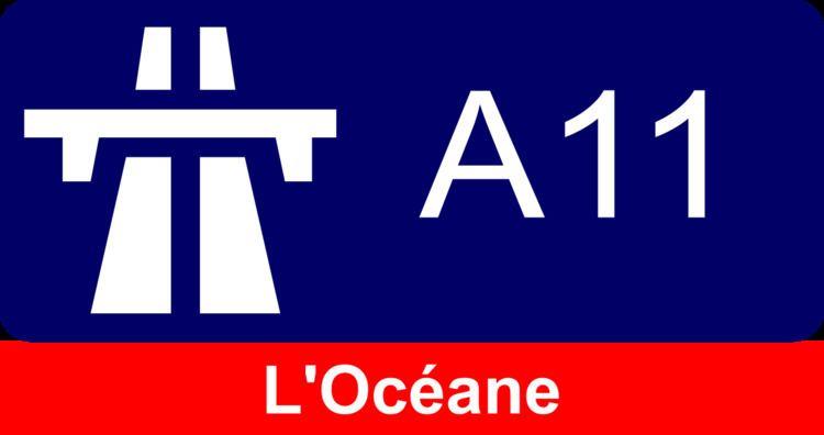 A11 autoroute