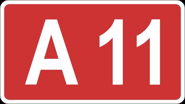 A11 road (Latvia)
