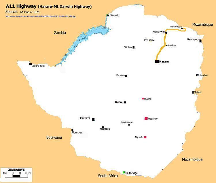 A11 Road (Zimbabwe)