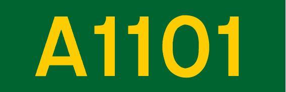 A1101 road