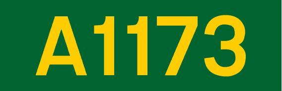 A1173 road