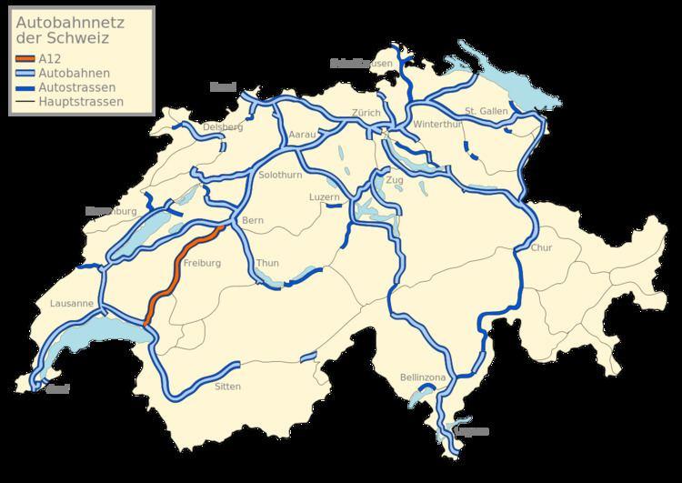 A12 motorway (Switzerland)