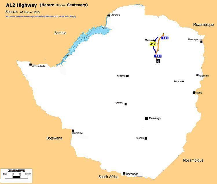 A12 Road (Zimbabwe)
