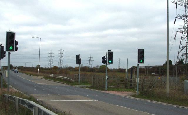 A129 road