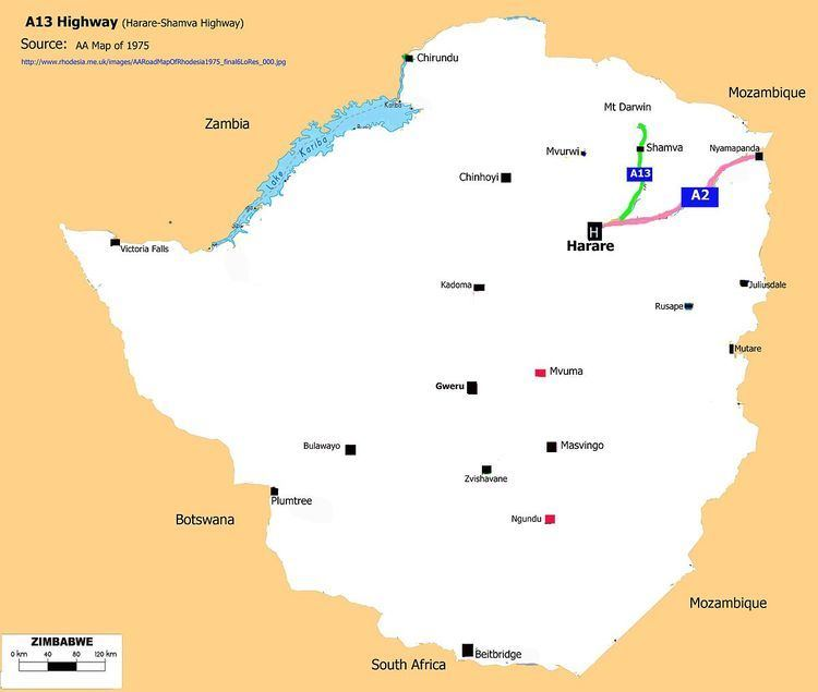 A13 Road (Zimbabwe)
