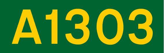 A1303 road