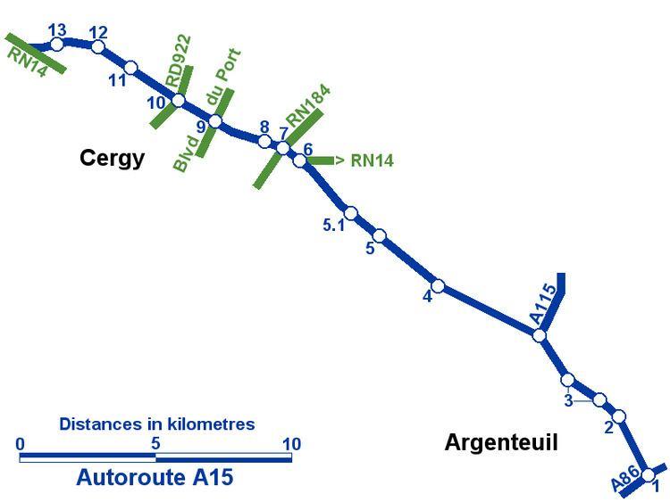 A15 autoroute