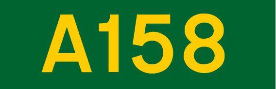 A158 road