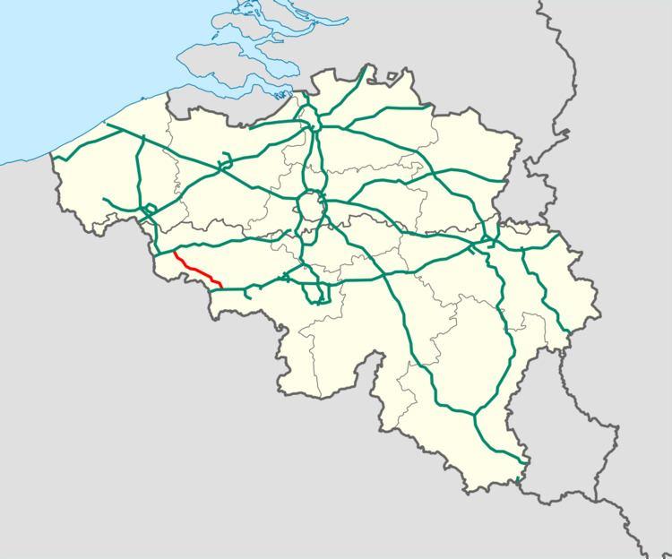 A16 motorway (Belgium)
