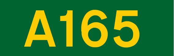 A165 road