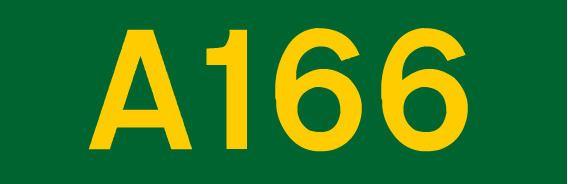 A166 road