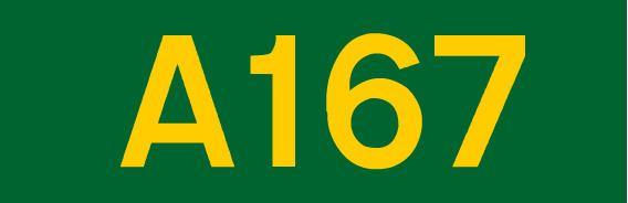 A167 road