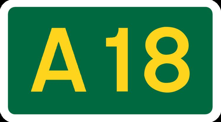 A18 road (England)