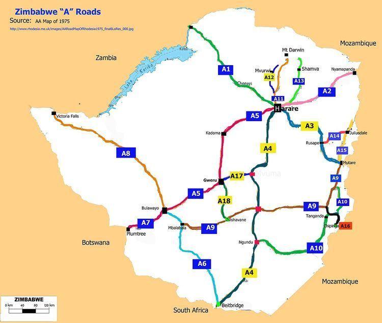 A18 Road (Zimbabwe)