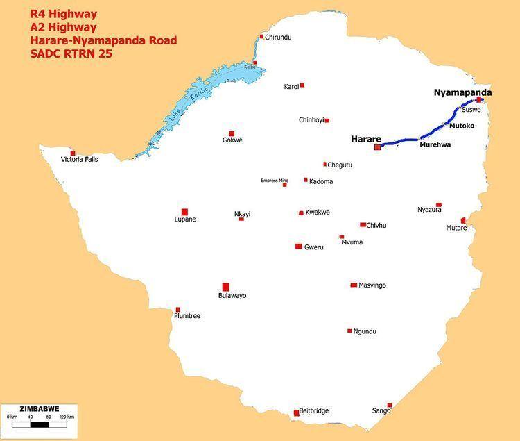 A2 road (Zimbabwe)