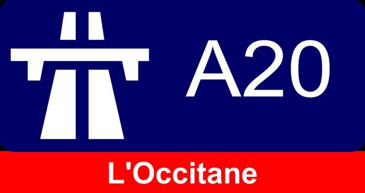 A20 autoroute