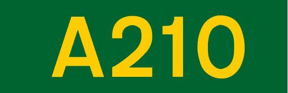 A210 road