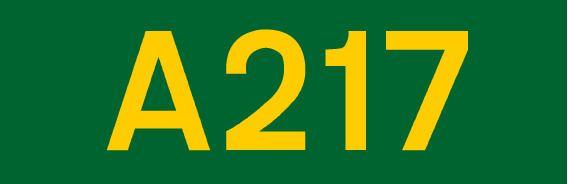A217 road
