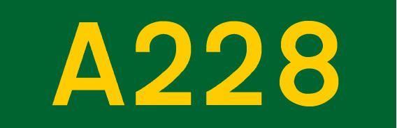 A228 road