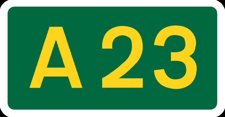 A23 road